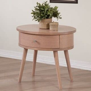 Beech Nightstand by Shop One Drawer Beech Nightstand Free Shipping