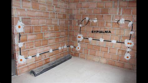 budowa domu krok po kroku etap 9 instalacja elektryczna i hydrauliczna