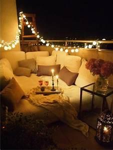 schoner garten balkon beleuchtung deko pinterest With balkon beleuchtung ideen