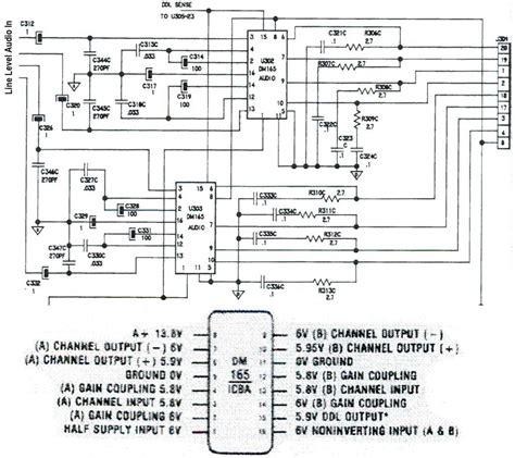 Delco Radio Audio Amp Repair
