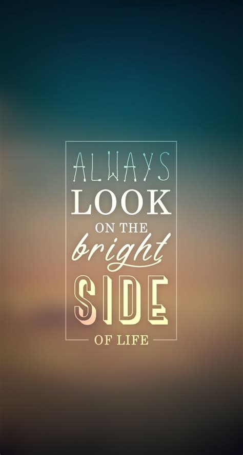 bright side apple iphone  hd wallpapers  typography word