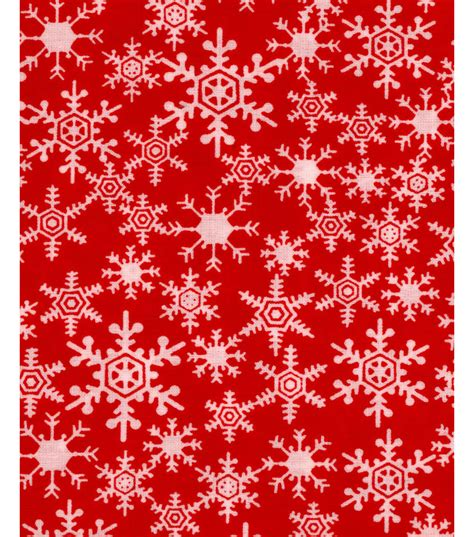 noel collection christmas snowflakes red  joanncom