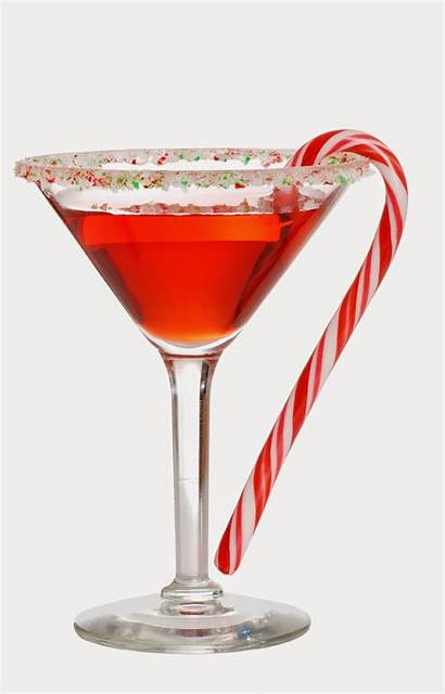 Holiday Cocktails Martini Candy Christmas Cocktail Cane