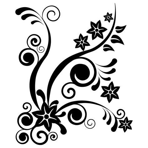 Gambar Bunga Floral Pattern Transparent