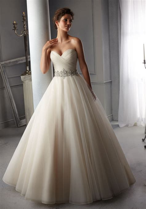 morilee wedding dress morilee bridal intricately beaded waistband on tulle