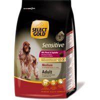 select gold sensitive adult medium pferd tapioka brocken
