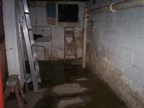 water damage   basement