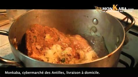 leçon de cuisine antillaise recette créole 2014