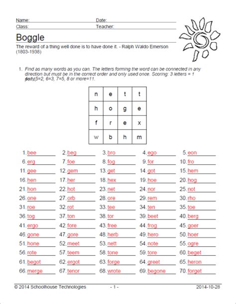 Vocabulary Worksheet Factory Editions