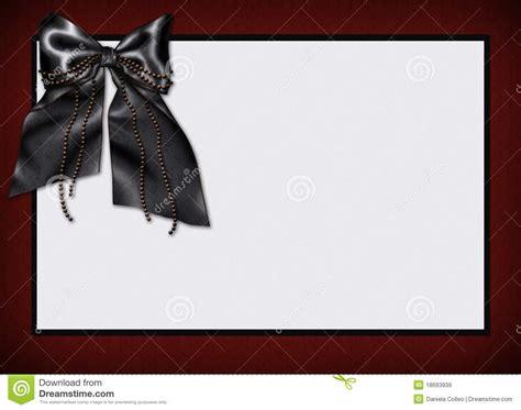 goth card menu invitation stock illustration image