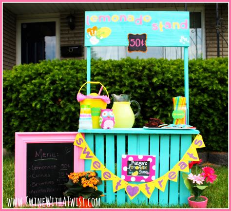 build a standing diy simple lemonade stand under 40 guest post