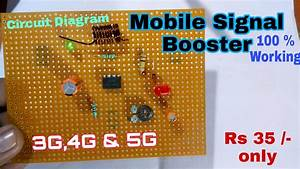 How To Make A Simple Mobile Signal Booster At Home