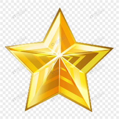 golden star element png imagepicture