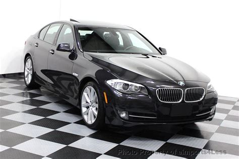 2012 Used Bmw 5 Series Certified 535i 6 Speed Sport