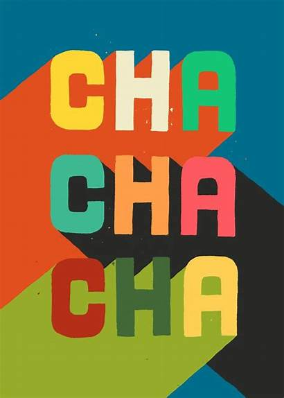 Cha Society6 Budikwan Bold Lettering Typography Picomodi