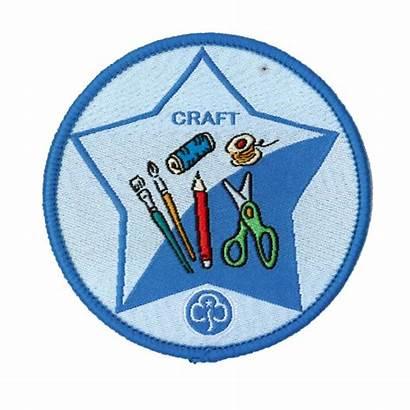 Interest Guide Badge Craft Cart
