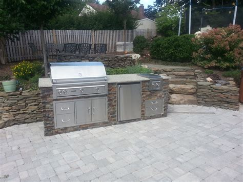 small outdoor kitchen projects outdoor living   jersey