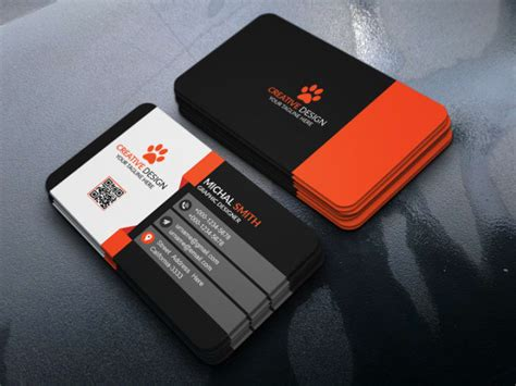 design creative business card  visiting card  zishrat