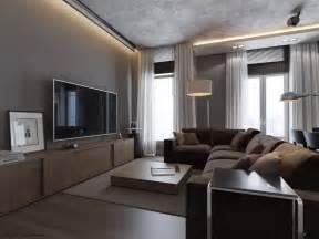 grey livingroom 1 monochrome grey living room interior design ideas