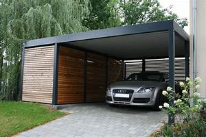 Design Carport Holz : metallcarport stahlcarport stuttgart der metall carport mit abstellraum made for you ~ Sanjose-hotels-ca.com Haus und Dekorationen