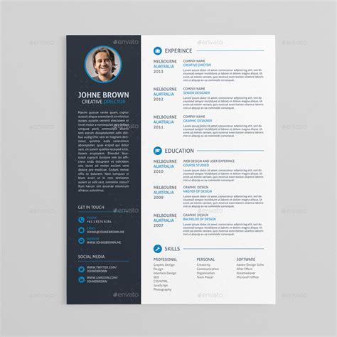 60 premium free psd cv resume templates cover letters