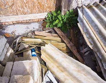 asbestos reduce  recycle