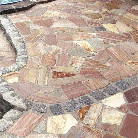 polygonalplatten naturstein bruchplatten quarzit