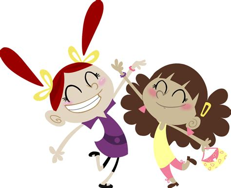Free Best Friends Cartoon Images, Download Free Clip Art