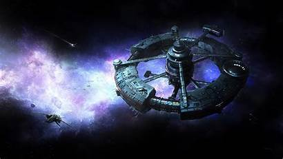 Space Station Sci Wallpapers Fi Ship Robert
