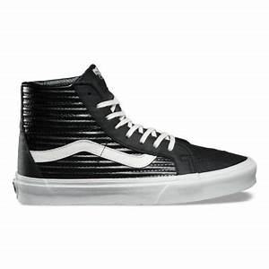 Vans Moto Leather UA SK8 Hi Reissue Kids Shoes Black