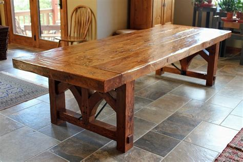 rustic wood kitchen table lovable diy rustic kitchen table dining room table diy