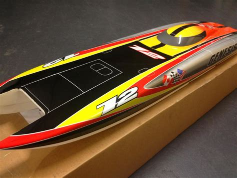 Rc Boat Brands by Brand New Genesis Rc Boat Hull Catamaran Castle 1717