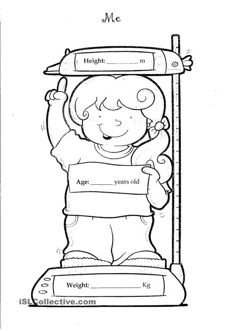 all about me coloring pages to and print for free