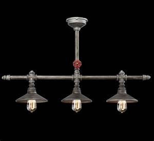 Zinco 3 Light Large Contemporary Linear Chandelier Grand