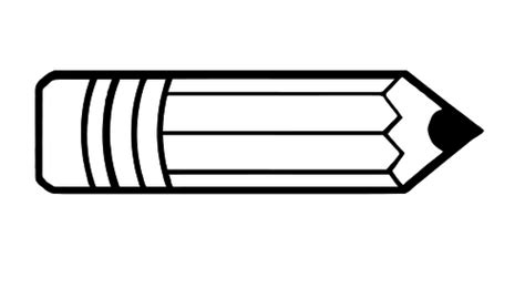 pencil clipart png black and white pencil vector icon domain vectors