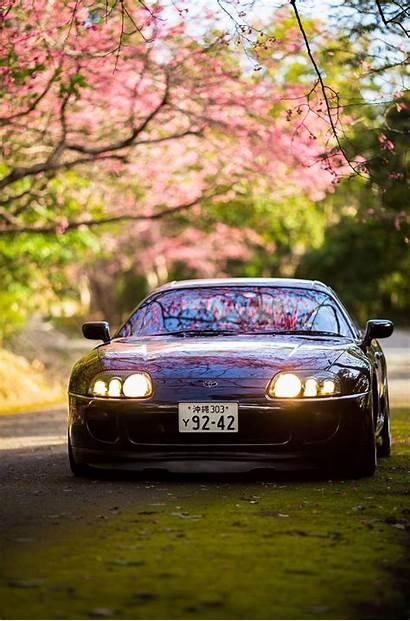 Supra Toyota Cherry Mkiv Blossoms Classic Sakura