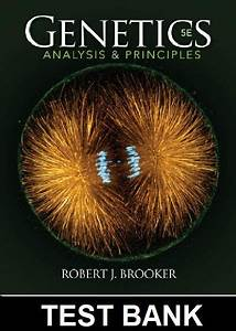 Test Bank For Genetics Analysis And Principles 5th Edition