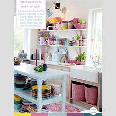 Colour Palette Multicoloured Kitchen Brights  Bright