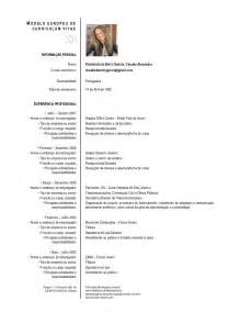 resume or curriculum vitae exemplos de curriculum vitae