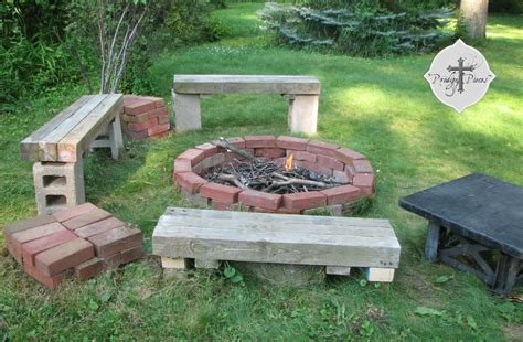 Patio Reclaimed Wood Fire Pit Pictures, Decorations