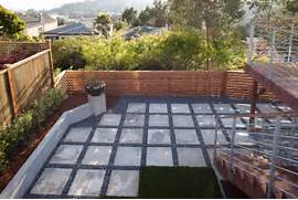 Adding Pavers To Concrete Patio Decorate Cast Concrete Patio Contemporary Patio San Francisco By Jeff