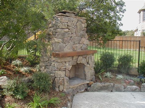 Outdoor Fireplace Question Patio Chimney Fire Pit Types