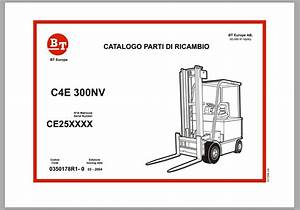 Bt Forklift Service Part And Operator Manual 2019 Full Dvd