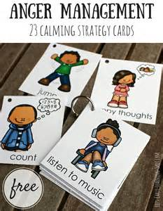 Free Anger Management Calming Strategy Cards 23