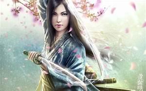 Download Female Warriors Wallpaper 1280x800 | Wallpoper ...