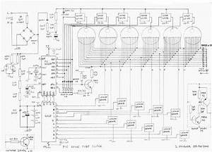 nixie clock version 4 With nixie clock circuit
