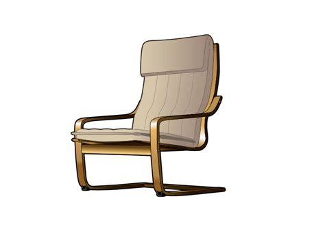 Free Brown Armchair Clip Art