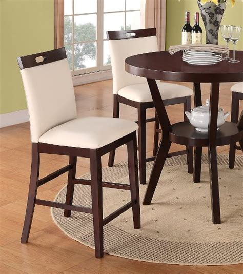 buy bar stools counter height set of 2 leather