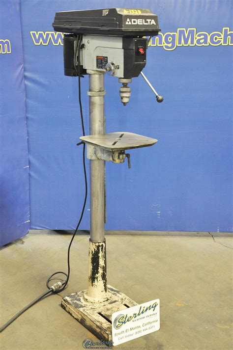 delta floor drill press sterling machinery