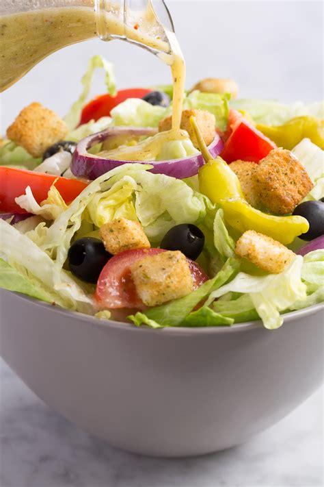 garden salad recipe olive garden salad dressing how to make olive garden s